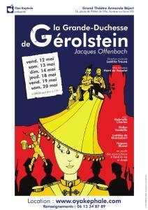 Affiche - La Grande-Duchesse de Gerolstein