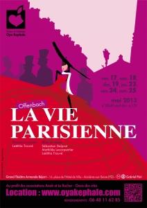 Affiche - La Vie Parisienne 2013