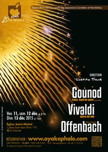 Gounod, Vivaldi, Offenbach
