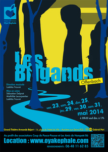 Affiche - Les Brigands 2014
