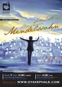 Affiche - Concert 2009 - Bruckner, Schubert, Mendelssohn