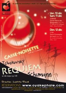 Affiche - Concert 2010 - Tchaïkovsky, Schumann, Offenbach