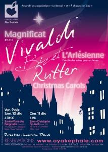 Affiche - Concert 2011 - Bizet, Vivaldi, Rutter