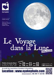 Affiche - Le Voyage dans la Lune